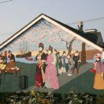 洋菓子店 壁画