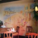イタリアンレストラン 壁画