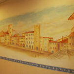 ホテル 壁画