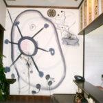 ラーメン店 壁画