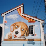 動物病院 壁画
