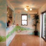 住宅 壁画(室内)
