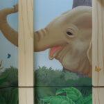 幼稚園 壁画