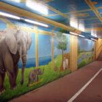 地下道 壁画