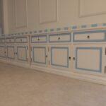デザイン塗装 家具 多色塗装