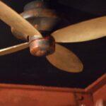 デザイン塗装 天井扇 エイジング塗装