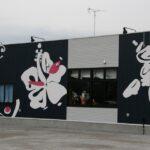 デザイン塗装 外壁 グラフィック塗装