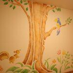 デザイン塗装 壁 ステンシル塗装