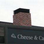 デザイン塗装 外壁 煙突