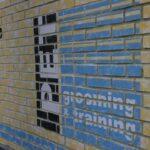デザイン塗装 ブロック塀 グラフィック塗装