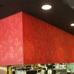 デザイン塗装 下がり壁