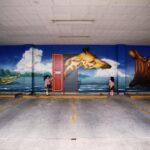 歯科医院 壁画