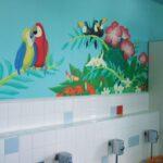 幼稚園 トイレ 壁画