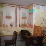 珈琲店 壁画