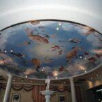 イタリアンレストラン 天井画