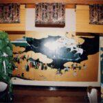和風居酒屋 壁画