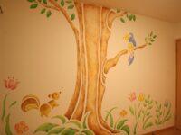 いにはの分譲住宅(ステンシル壁画)