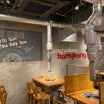 焼肉レストラン 壁画