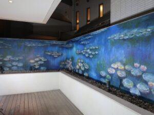フレンチレストラン(壁画)